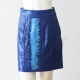 Felder Felder Blue Leather Skirt