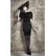 Gail Sorronda Black Ventricle Dress