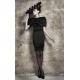 Gail Sorronda Black Ventricle Dress