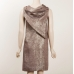 Sophia Kokosalaki Silk Lame Sculptured Dress