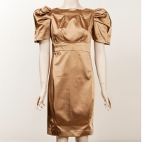 Gail Sorronda Gold Ventricle Dress