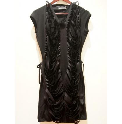 Antonia Goy Shell Wool Dress