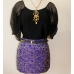 Amy Kaehne Galaxy Print Skirt
