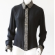 Sara Phillips Beaded Silk Shirt