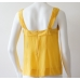 alldressedup Taiwan Silk Tank Yellow